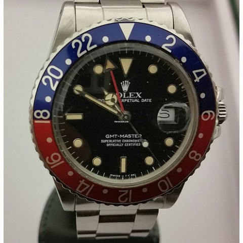 GMT MASTER 16750 Never Polished