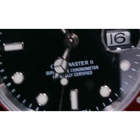 GMT MASTER II COKE STICK DIAL